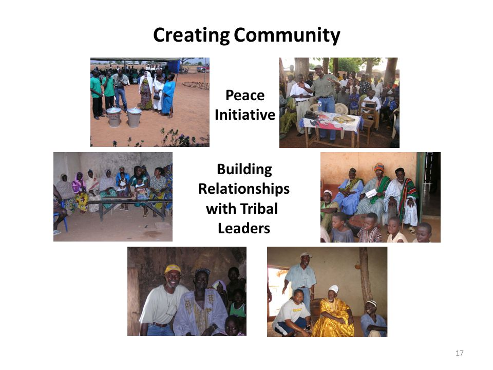 Creating Community Peace Initiative Building Relationships with Tribal