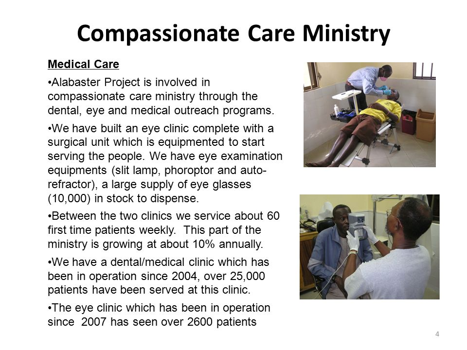 Compassionate Care Ministry
