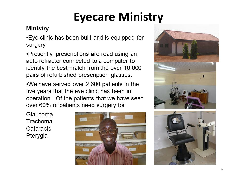 Eyecare Ministry Ministry