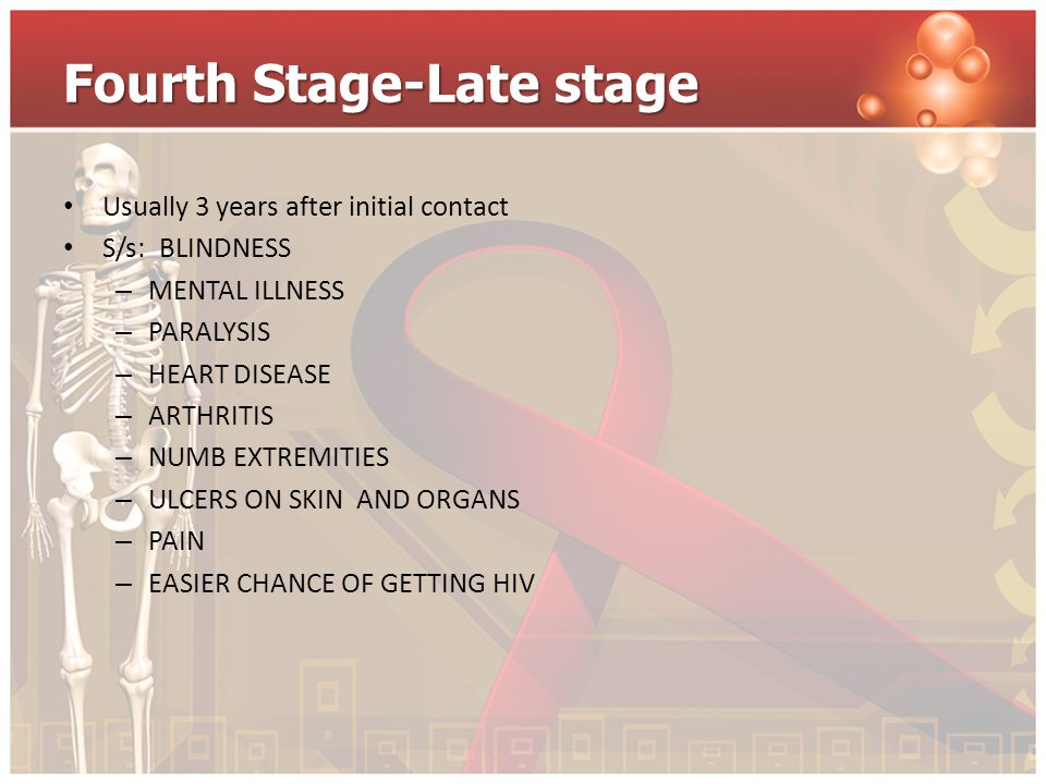 Fourth Stage-Late stage