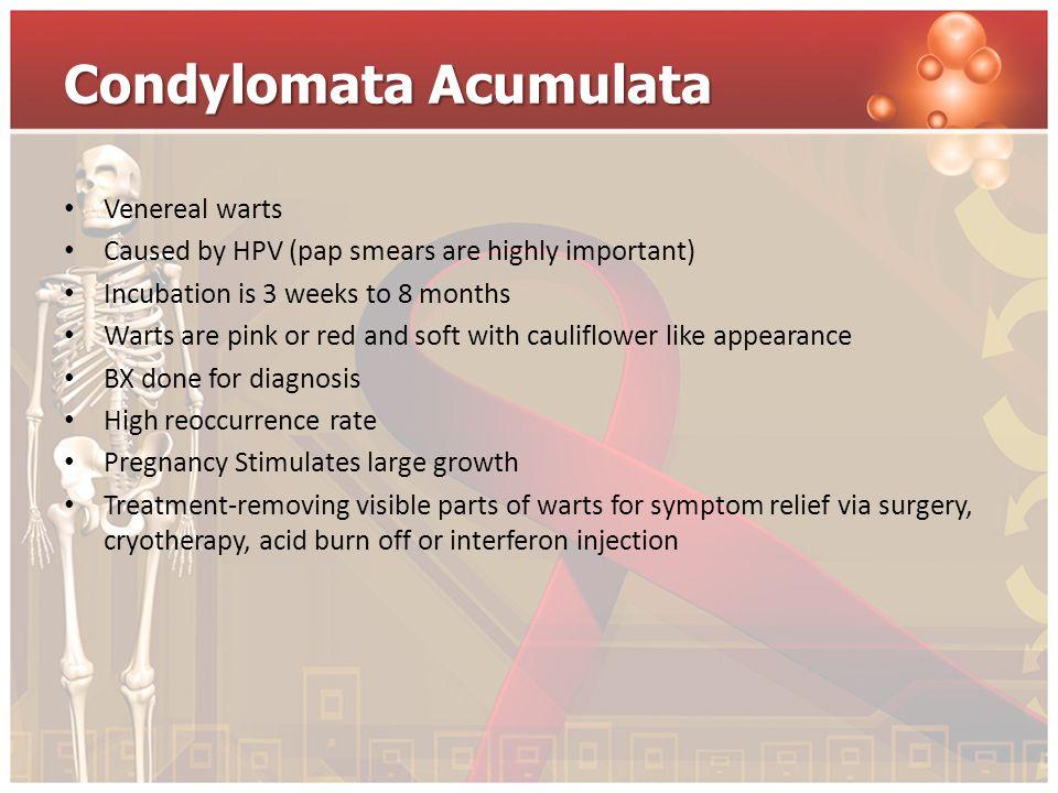 Condylomata Acumulata