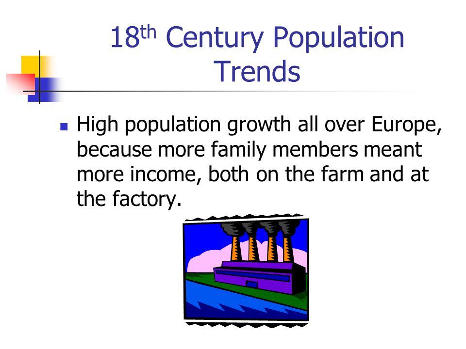 18th Century Population Trends