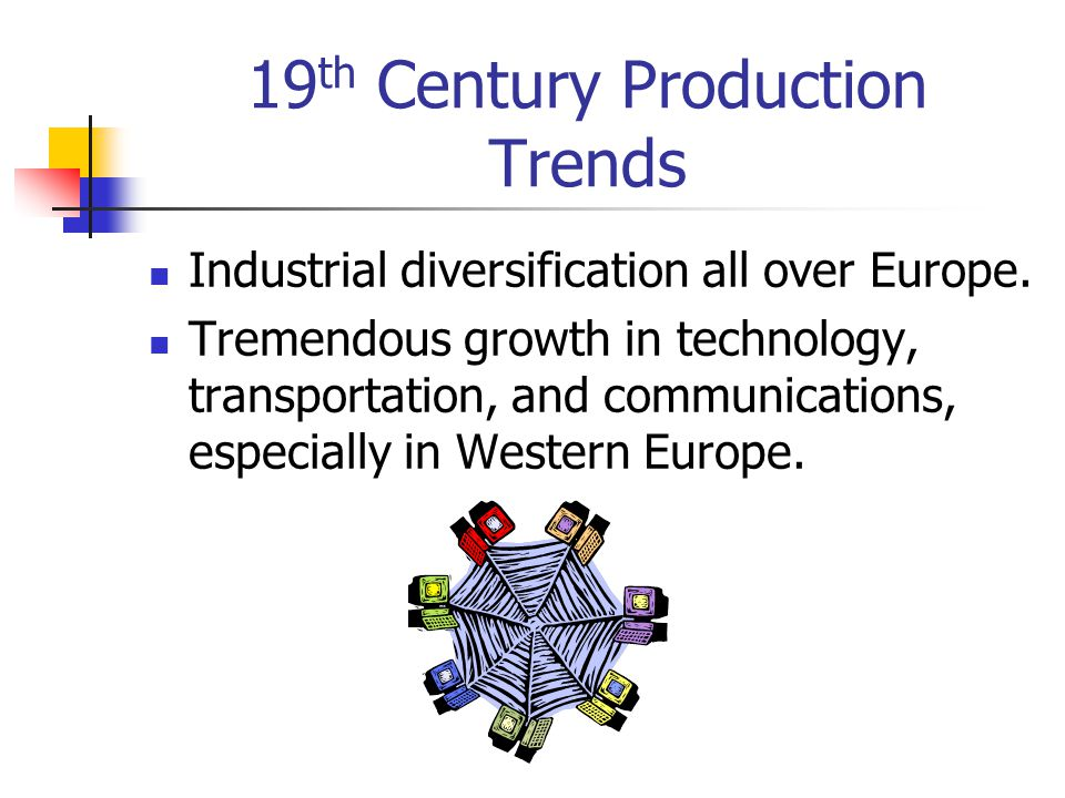 19th Century Production Trends