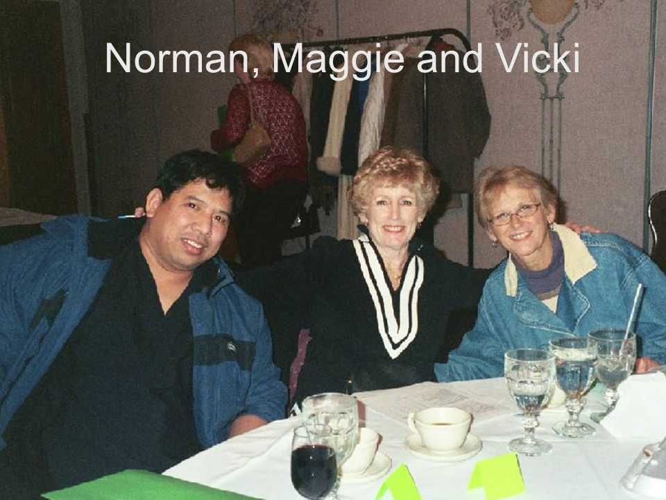 Norman, Maggie and Vicki