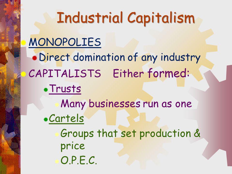 Industrial Capitalism
