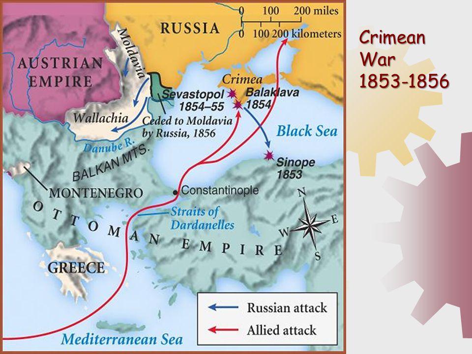 Crimean War 1853-1856.