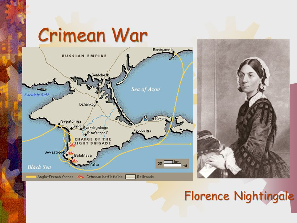 Crimean War Florence Nightingale