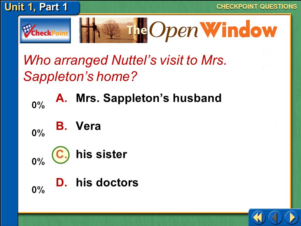 Who arranged Nuttel's visit to Mrs. Sappleton's home