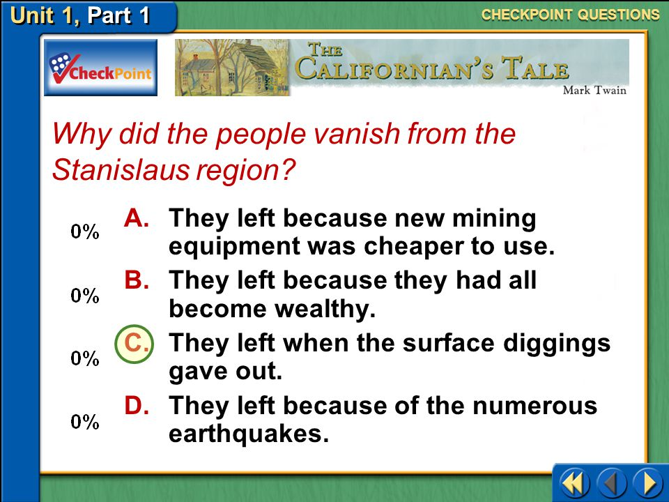 Why did the people vanish from the Stanislaus region