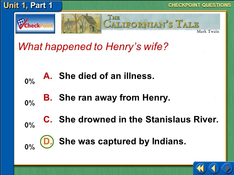 What happened to Henry's wife