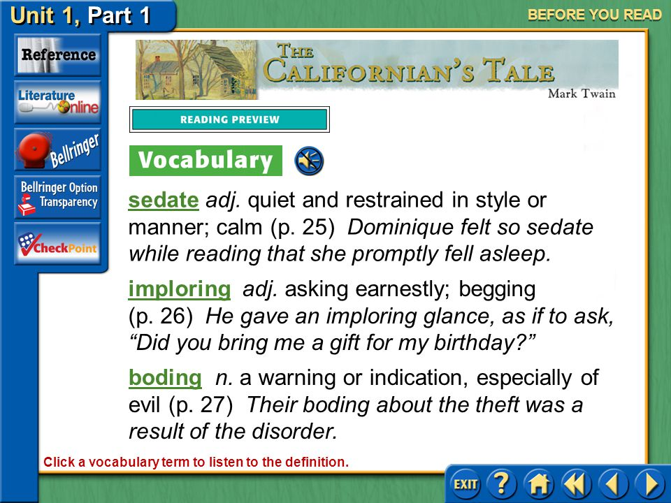 Click a vocabulary term to listen to the definition.
