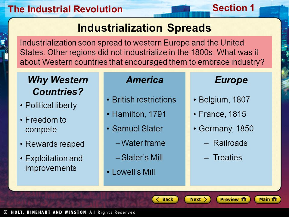 compare and contrast the u s with britain and europe in the industrialization of it s economy Compare the causes and early phases of the industrial revolution in western europe and japan  industrialization has helped europe's and japan's economy improve .