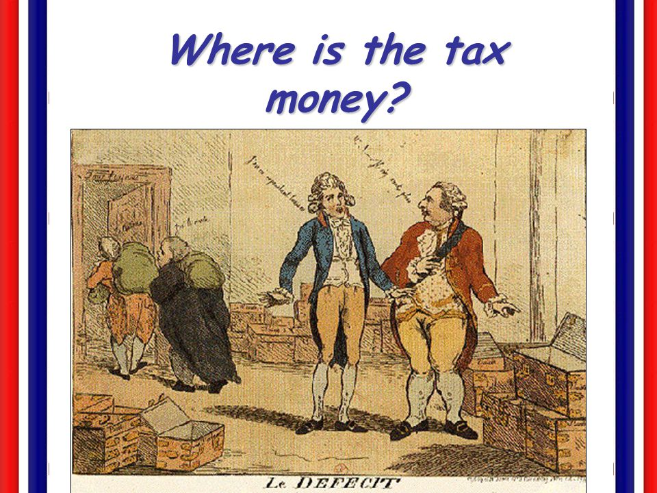 Where is the tax money