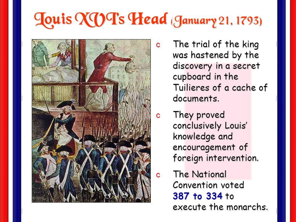Louis XVI's Head (January 21, 1793)