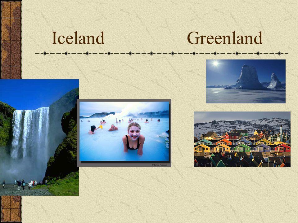 Iceland Greenland