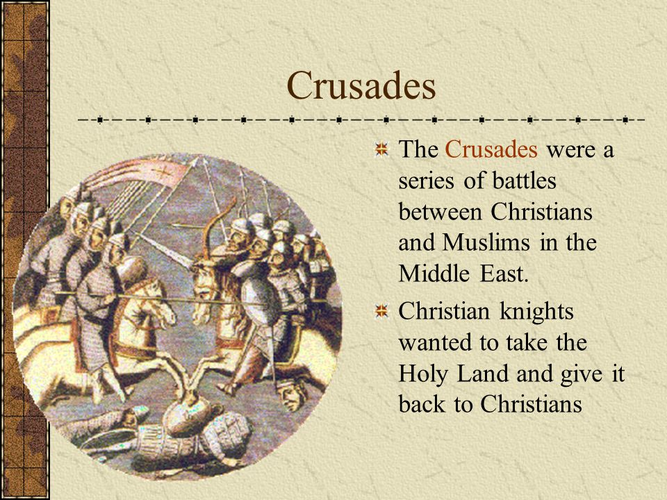 relationship between muslims and christians after the crusades