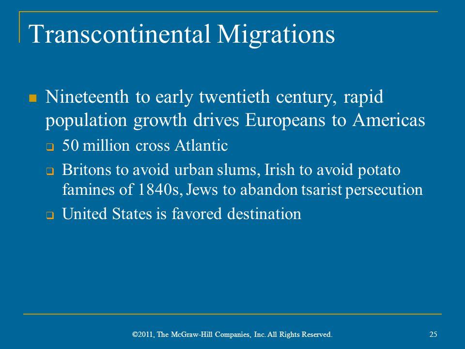 Transcontinental Migrations