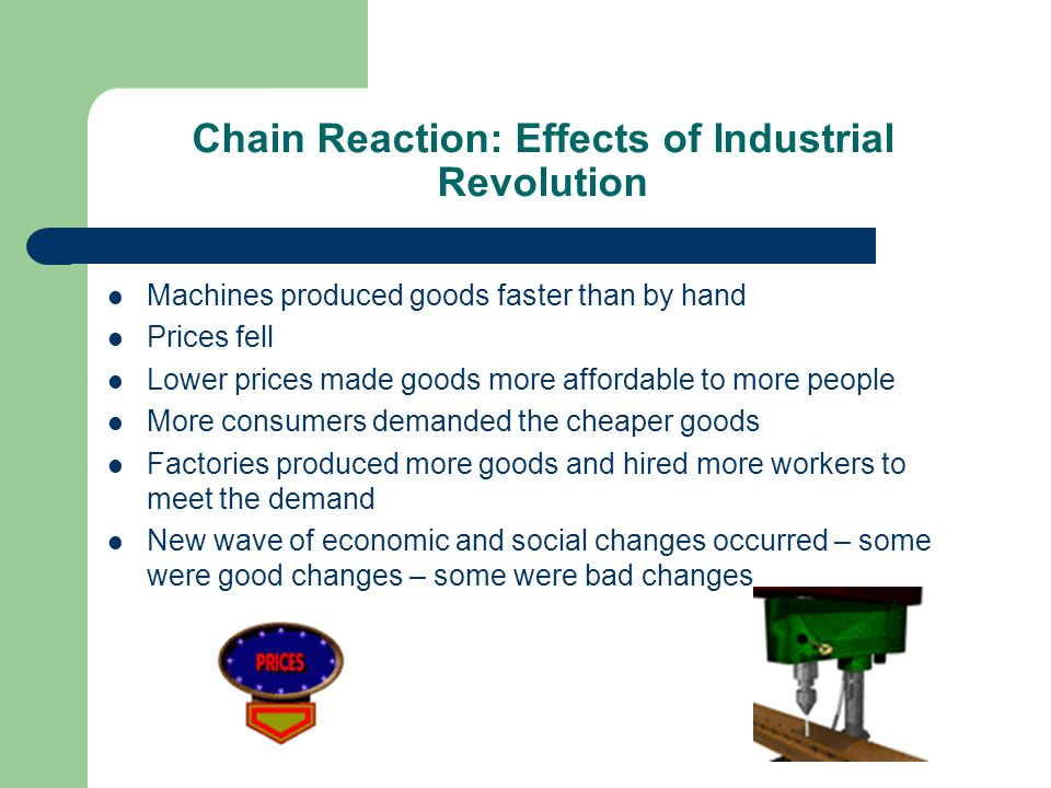 Chain Reaction: Effects of Industrial Revolution