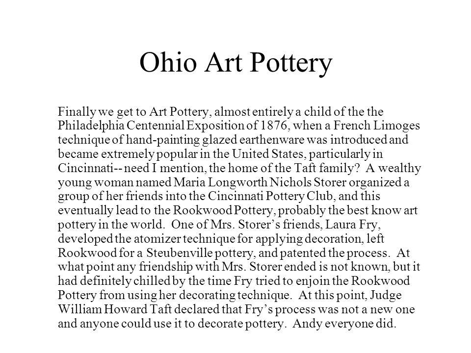 Ohio Art Pottery