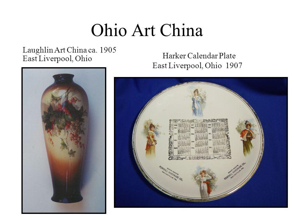 Ohio Art China Laughlin Art China ca. 1905 East Liverpool, Ohio