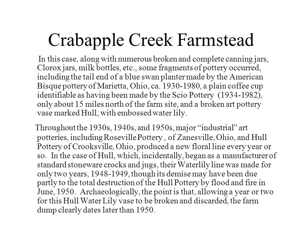 Crabapple Creek Farmstead