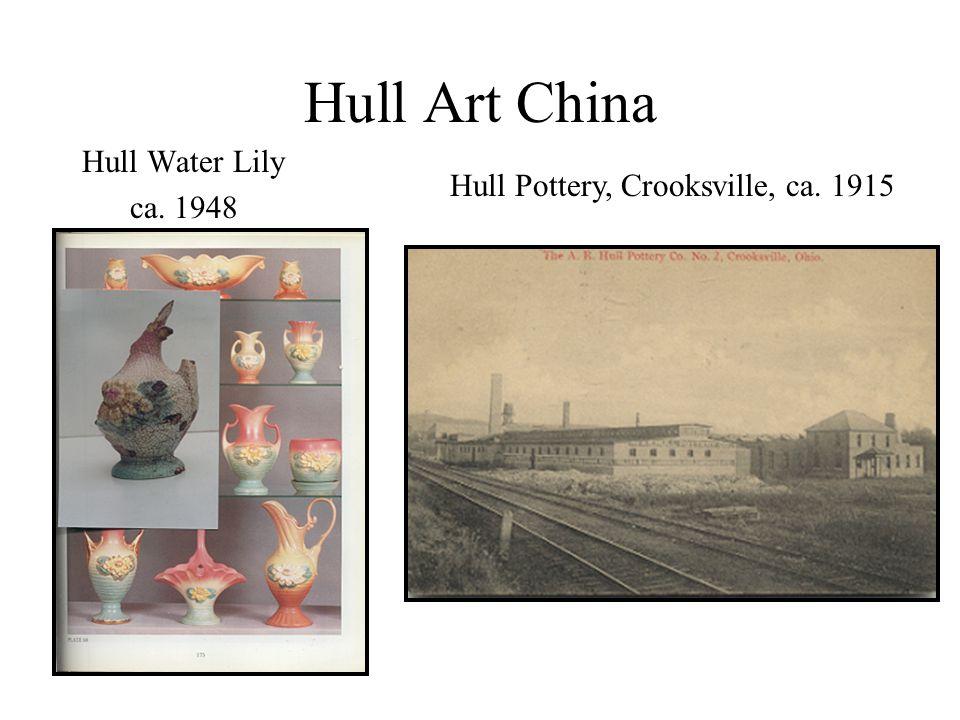Hull Art China Hull Water Lily ca. 1948