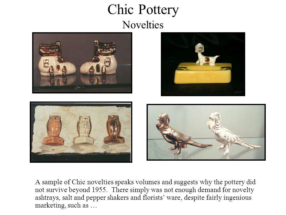 Chic Pottery Novelties