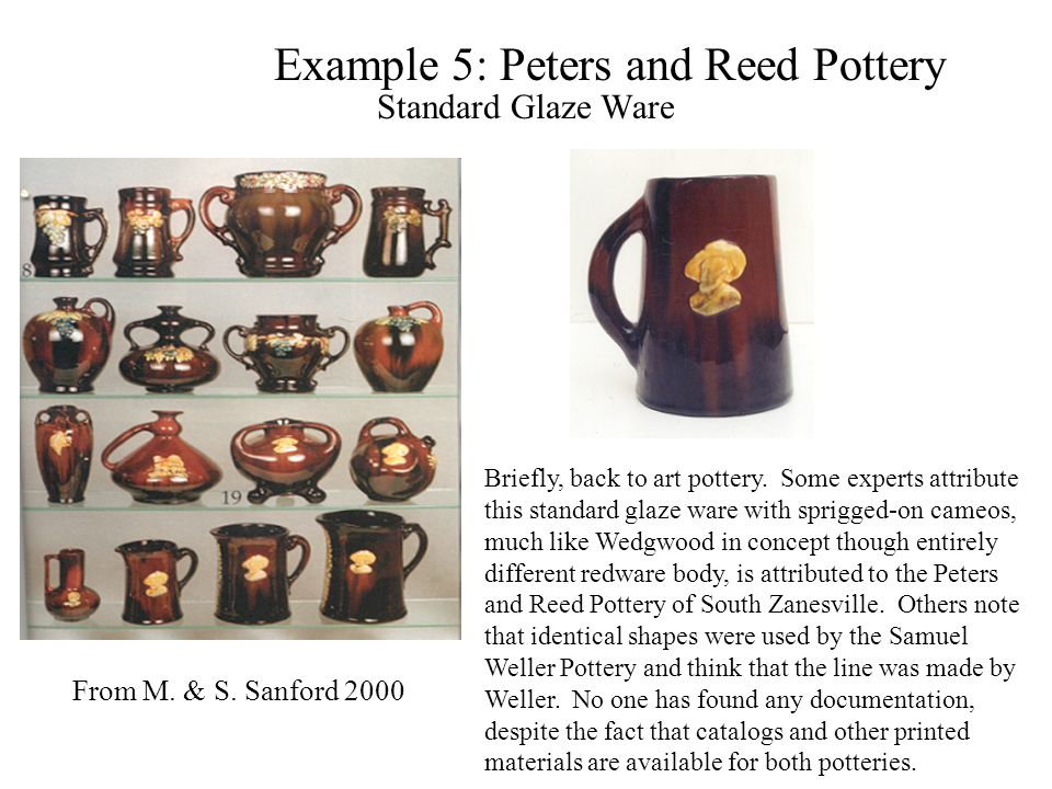 Example 5: Peters and Reed Pottery