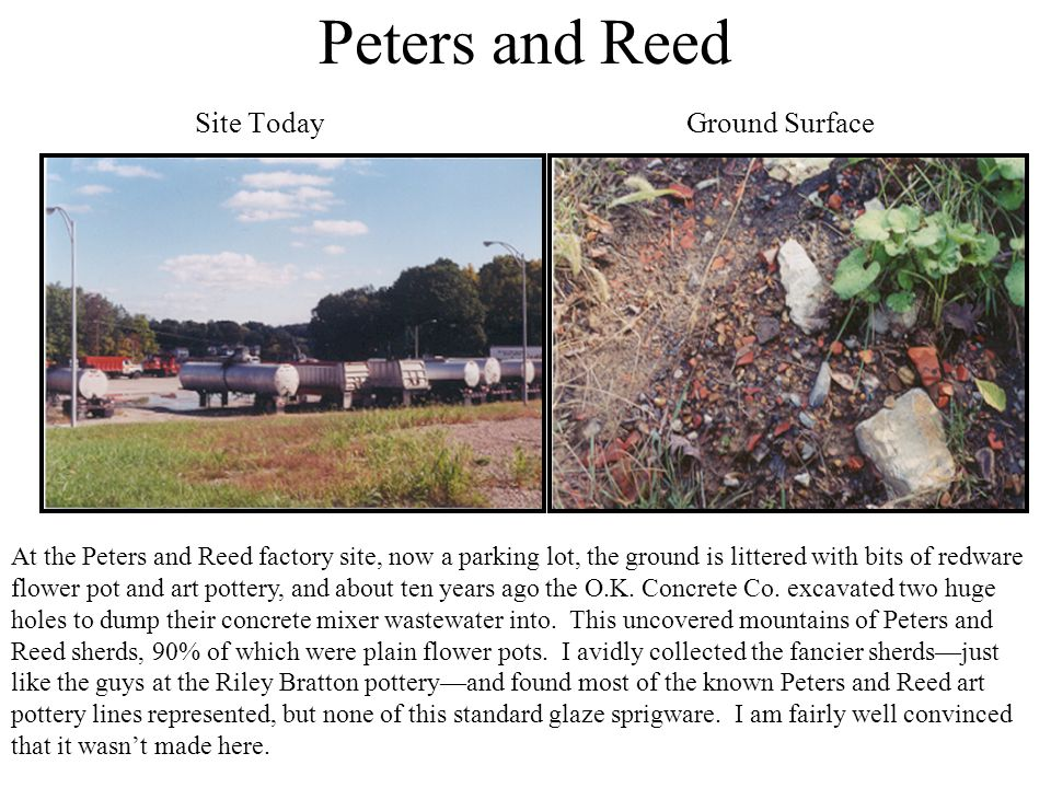 Peters and Reed Site Today Ground Surface