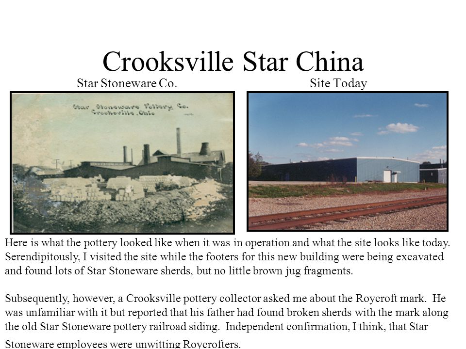Crooksville Star China