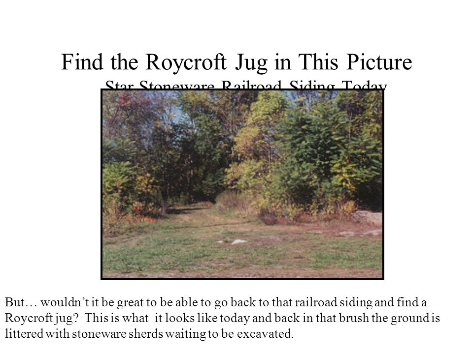 Find the Roycroft Jug in This Picture
