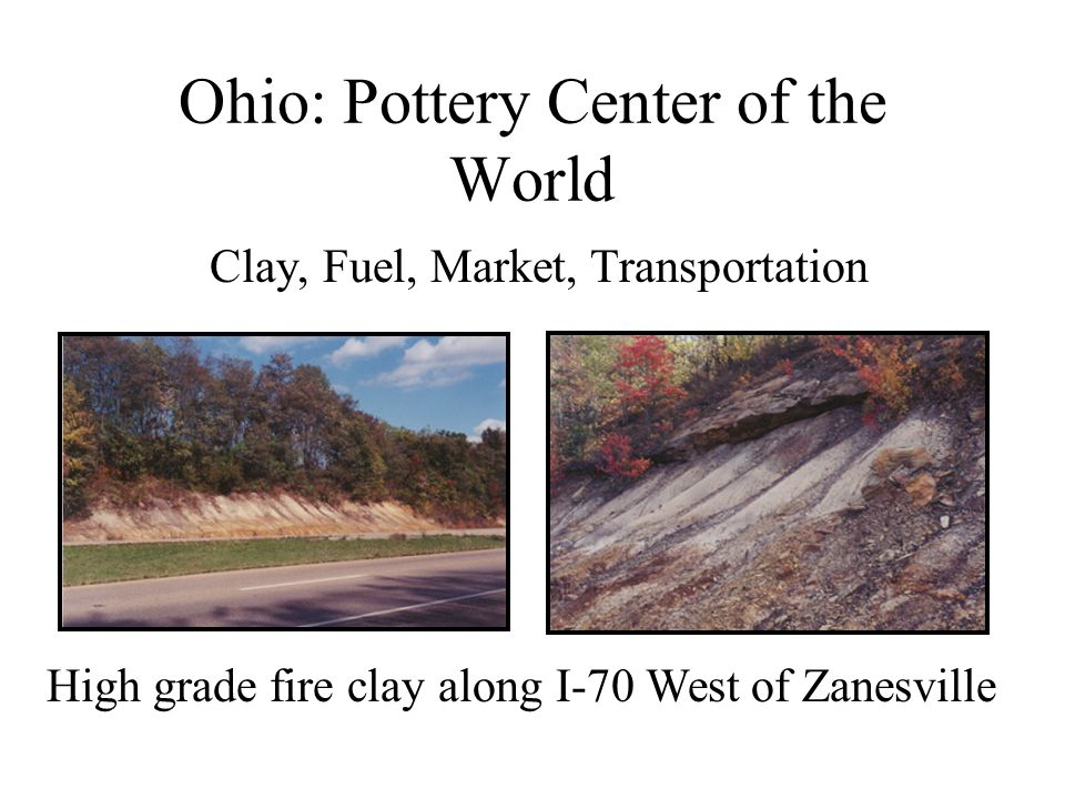 Ohio: Pottery Center of the World