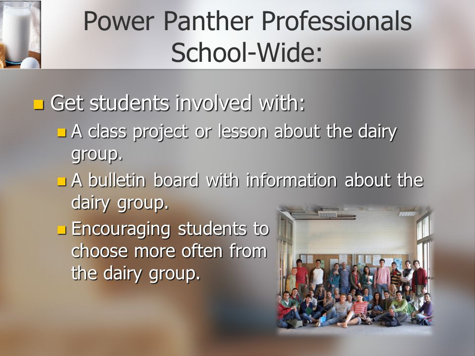 Power Panther Professionals School-Wide: