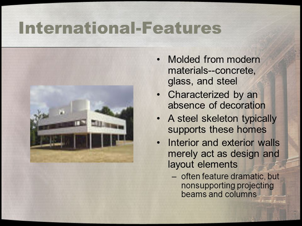 International-Features