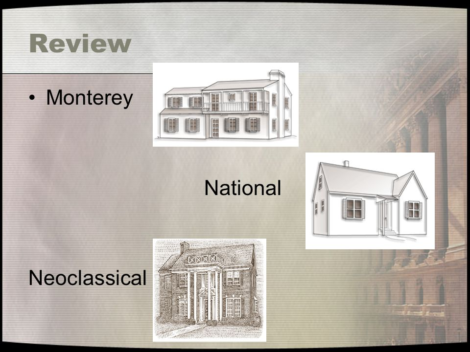 Review Monterey National Neoclassical