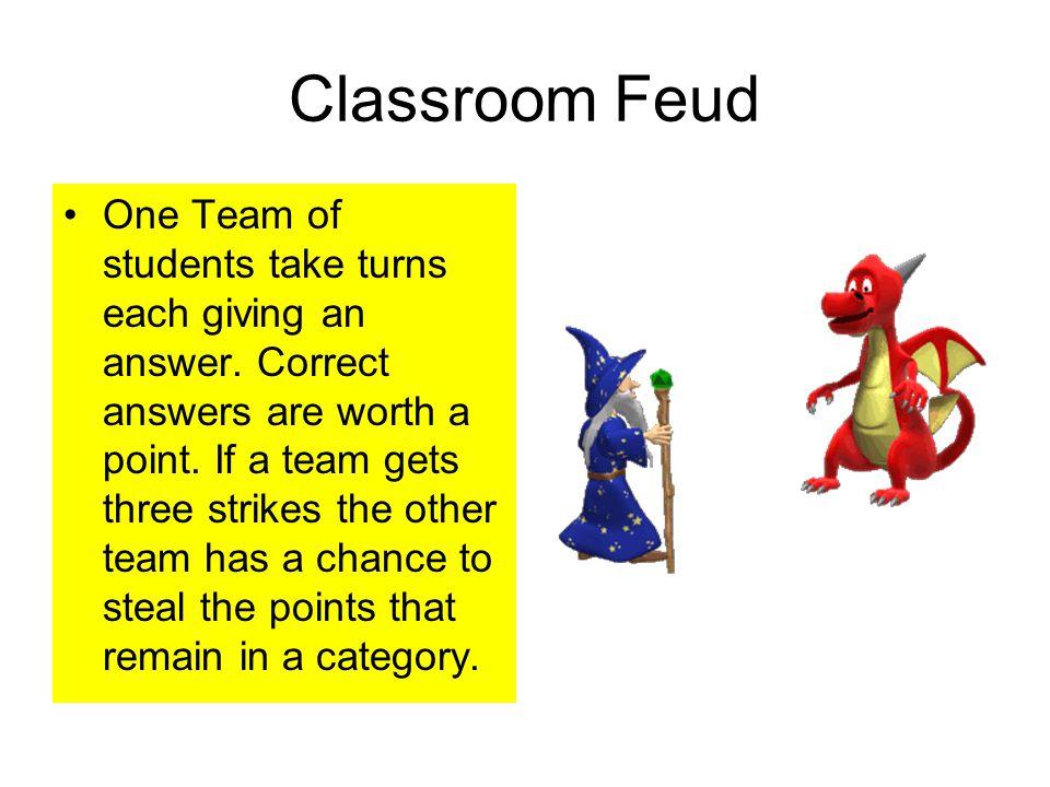 Classroom Feud