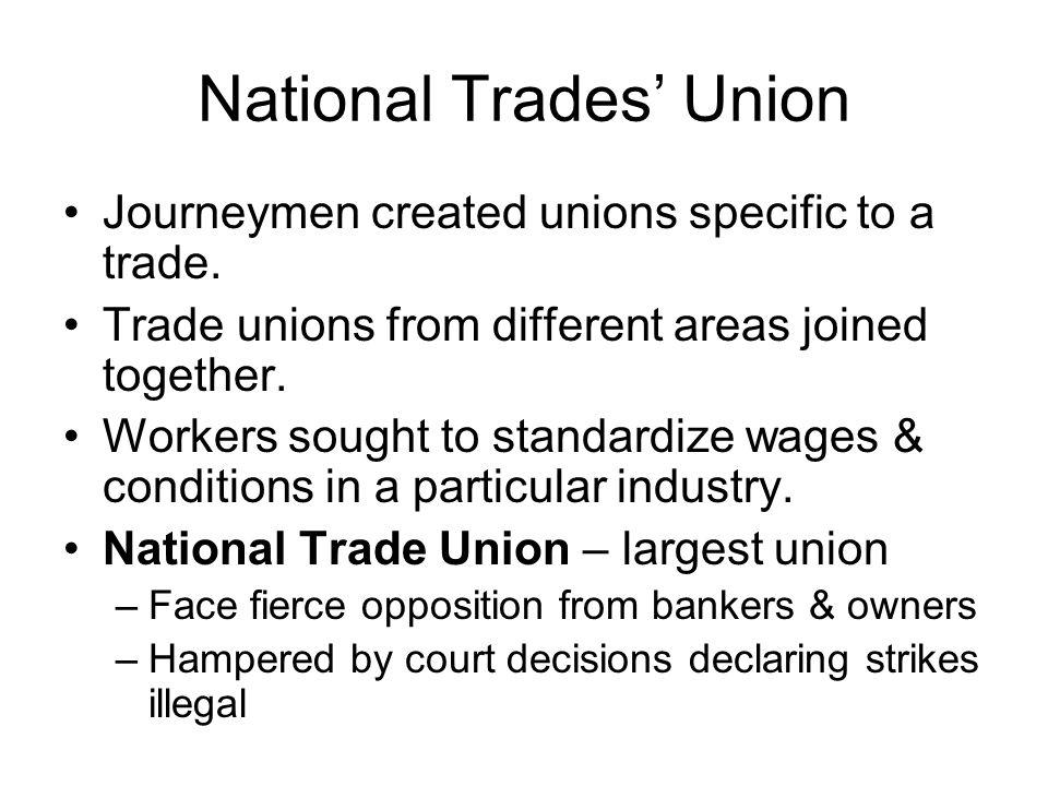 National Trades' Union