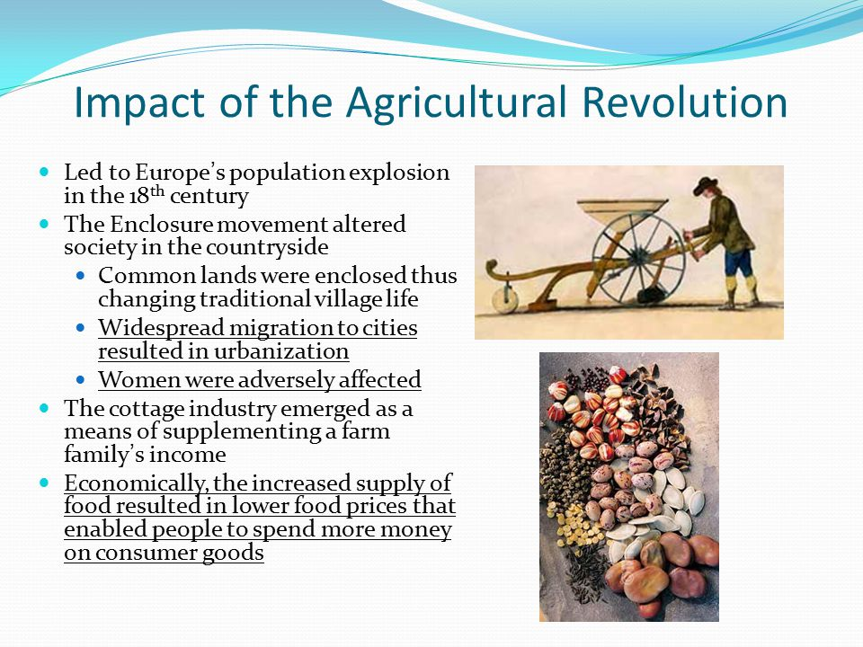 Impact of the Agricultural Revolution