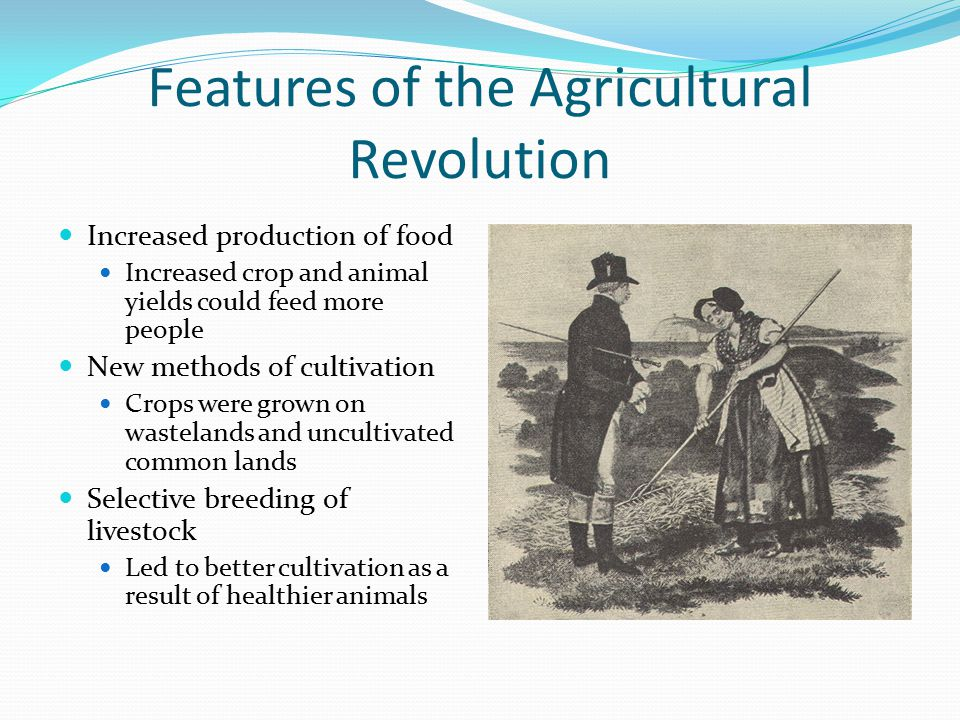 Features of the Agricultural Revolution