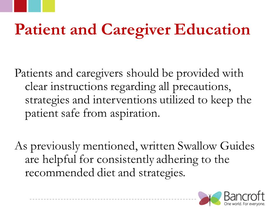 Patient and Caregiver Education