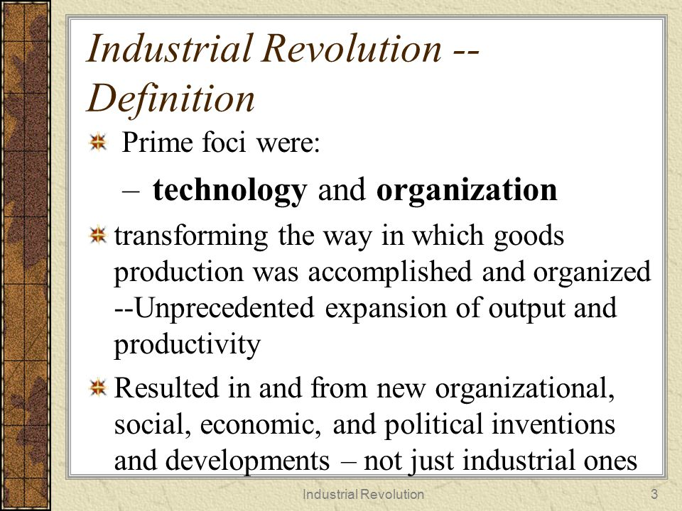 industrial revolution organizational behaviour Adidas and organizational behavior introduction- as organizations grew more complex after the industrial revolution, it became necessary to develop a robust and scientific way to study them, their intricacies, and the manner in which human interaction changed organizational behavior.
