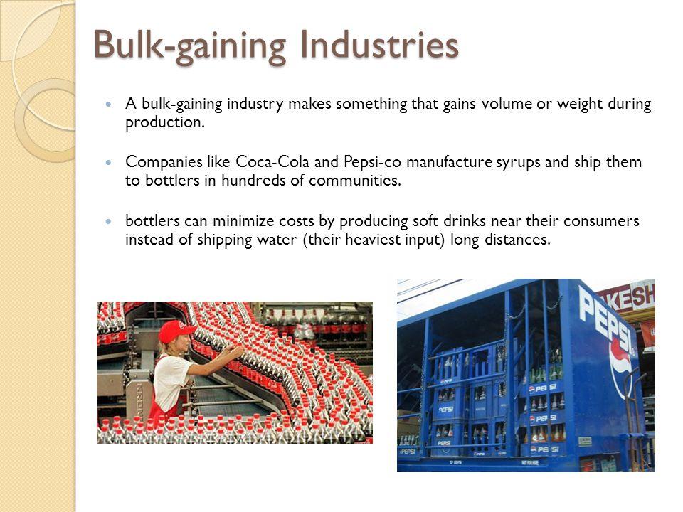Bulk-gaining Industries