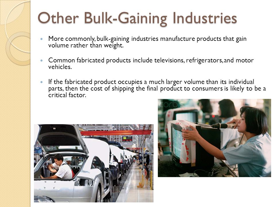 Other Bulk-Gaining Industries