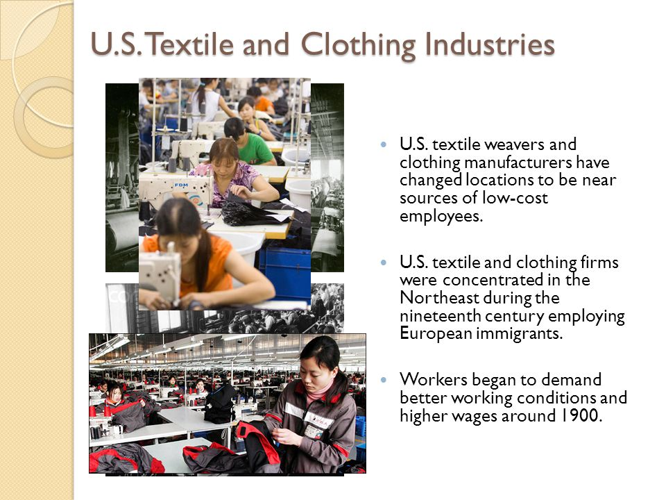 U.S. Textile and Clothing Industries