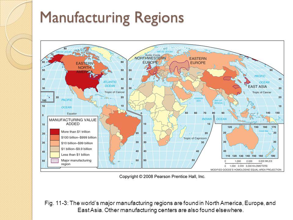 Manufacturing Regions