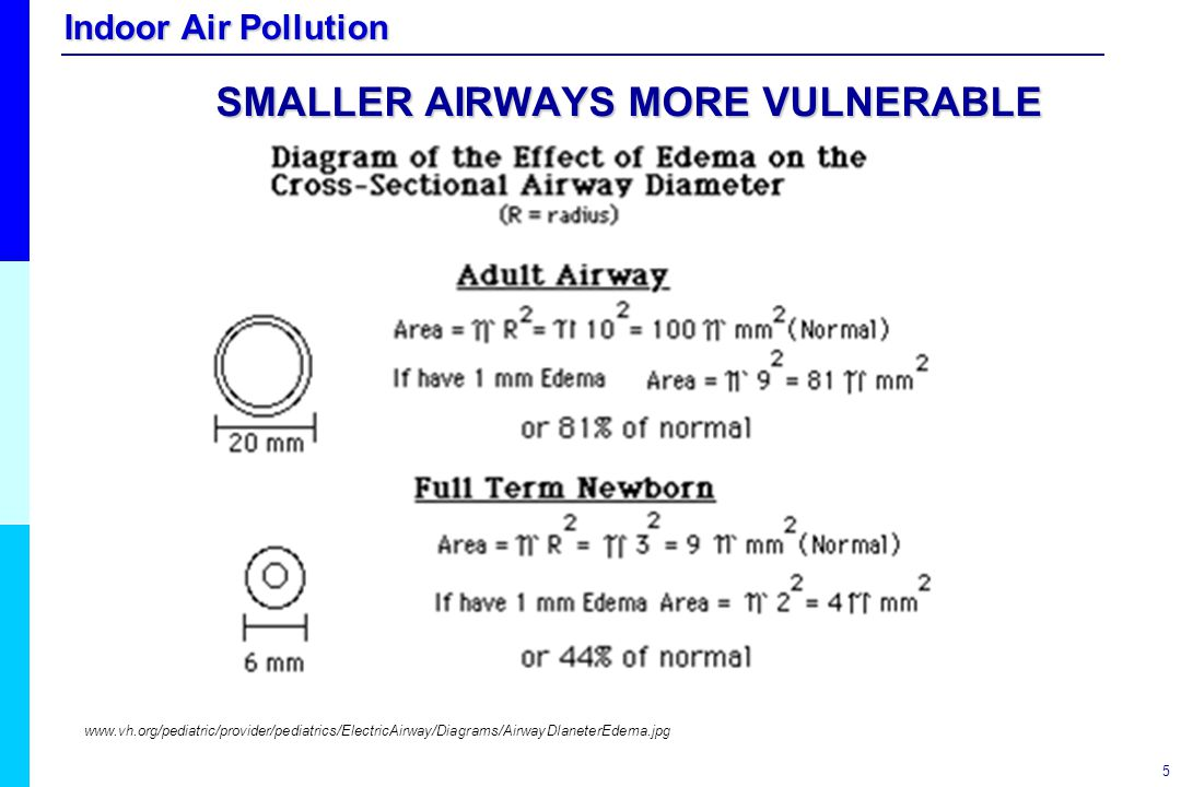 SMALLER AIRWAYS MORE VULNERABLE