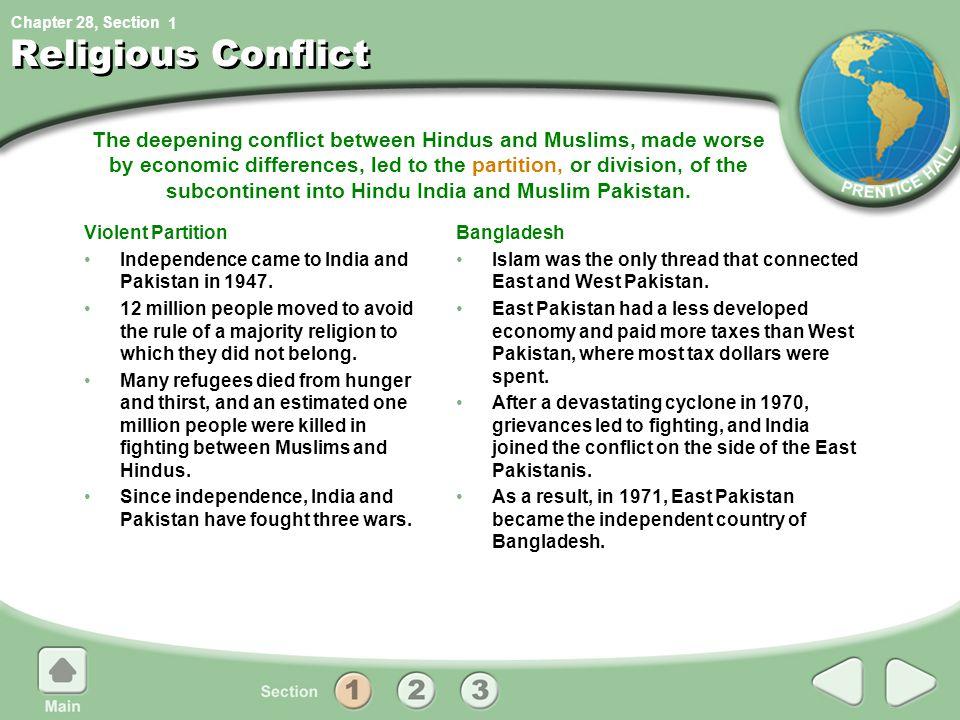1 Religious Conflict.