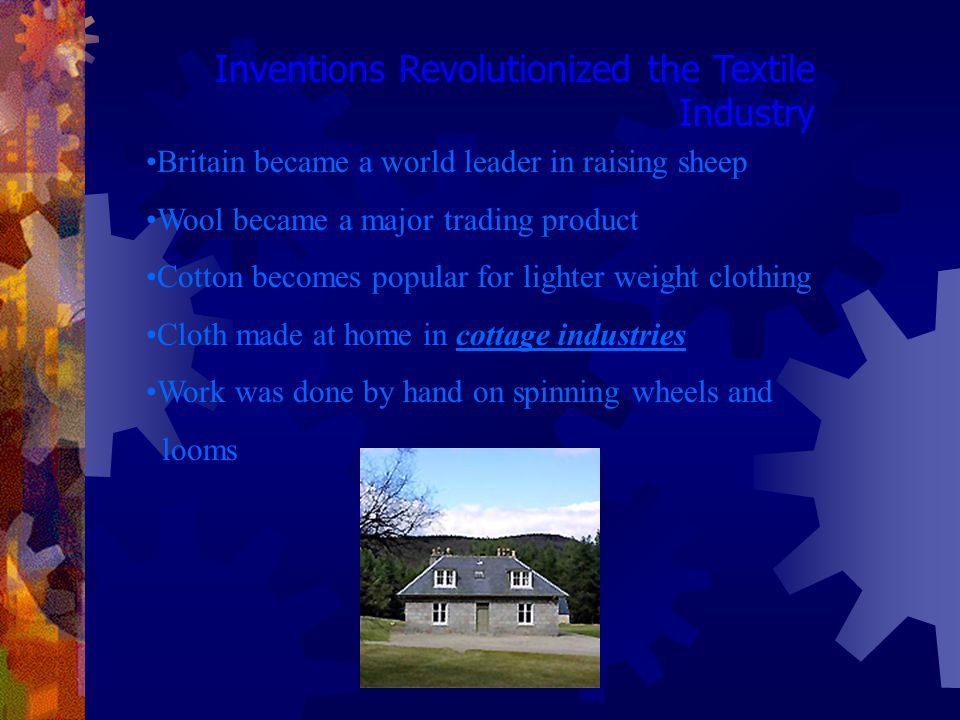 Inventions Revolutionized the Textile Industry