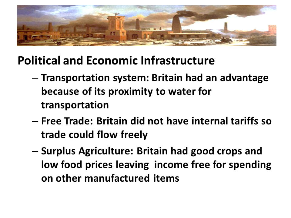 Political and Economic Infrastructure