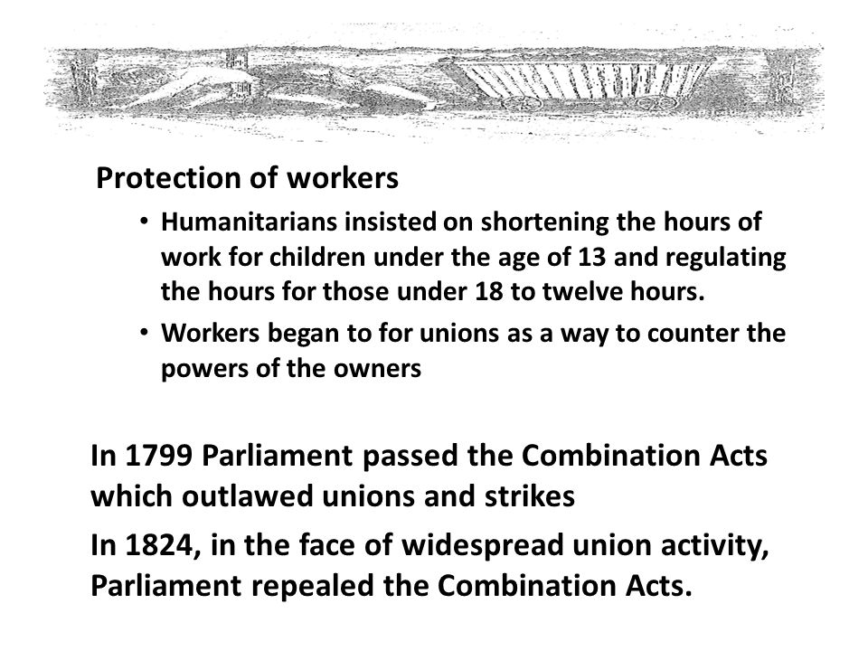 Protection of workers